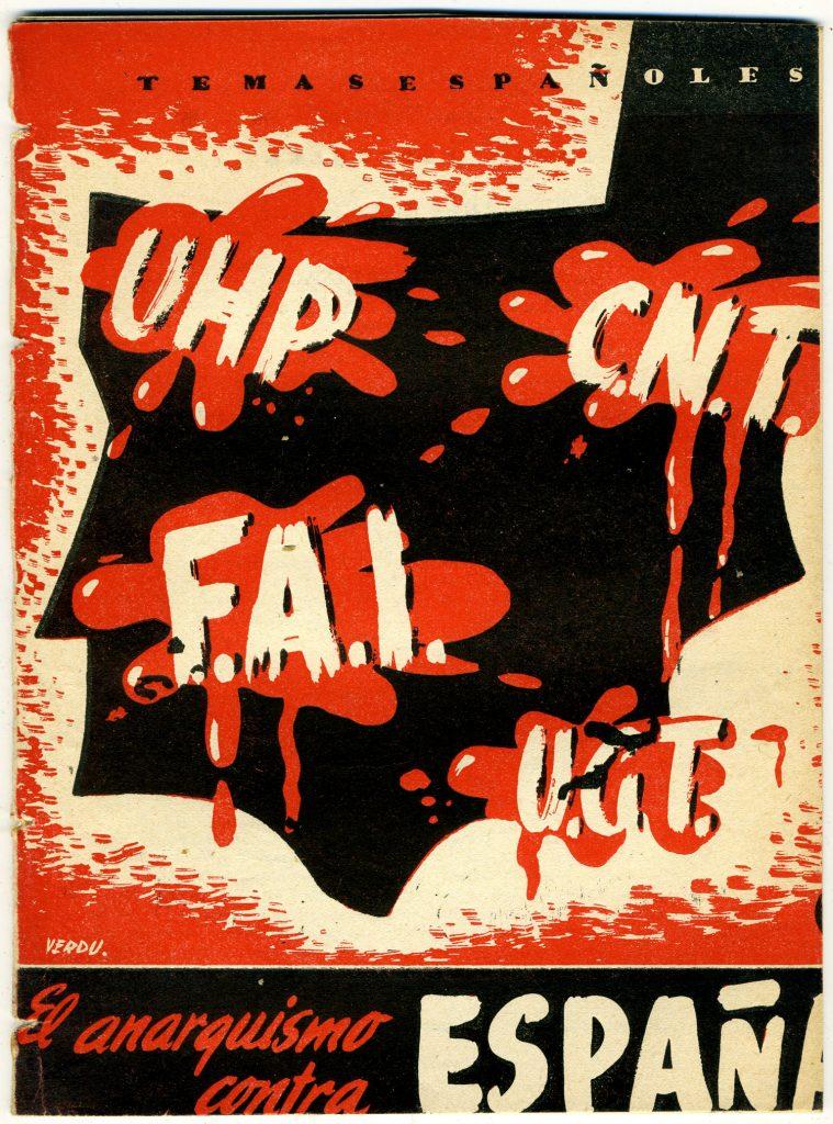 El anarquismo según el franquismo