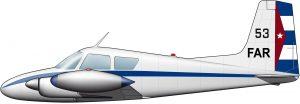 El avión en el que Camilo Cienfuegos ascendió al cielo de la Revolución