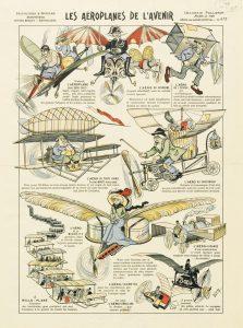 Los aviones del porvenir