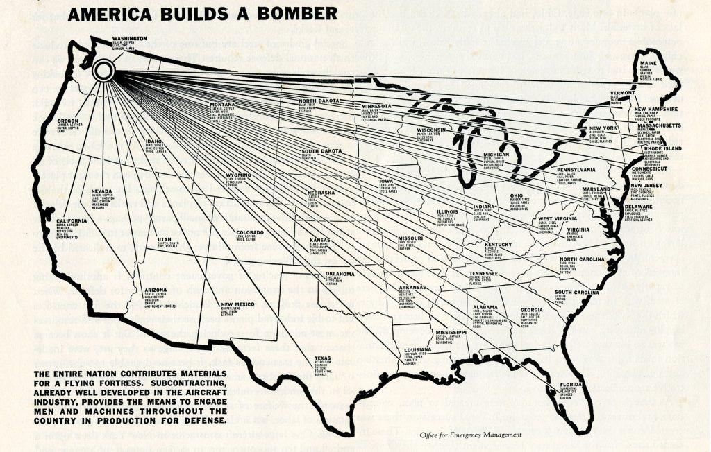 Toda América construye un bombardero
