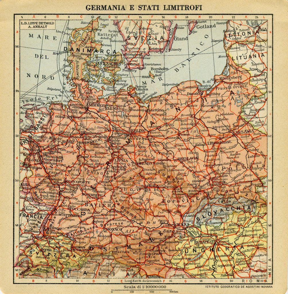 Alemania en un almanaque de 1942