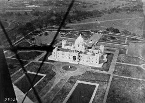 El enorme monumento de la emperatriz de la India