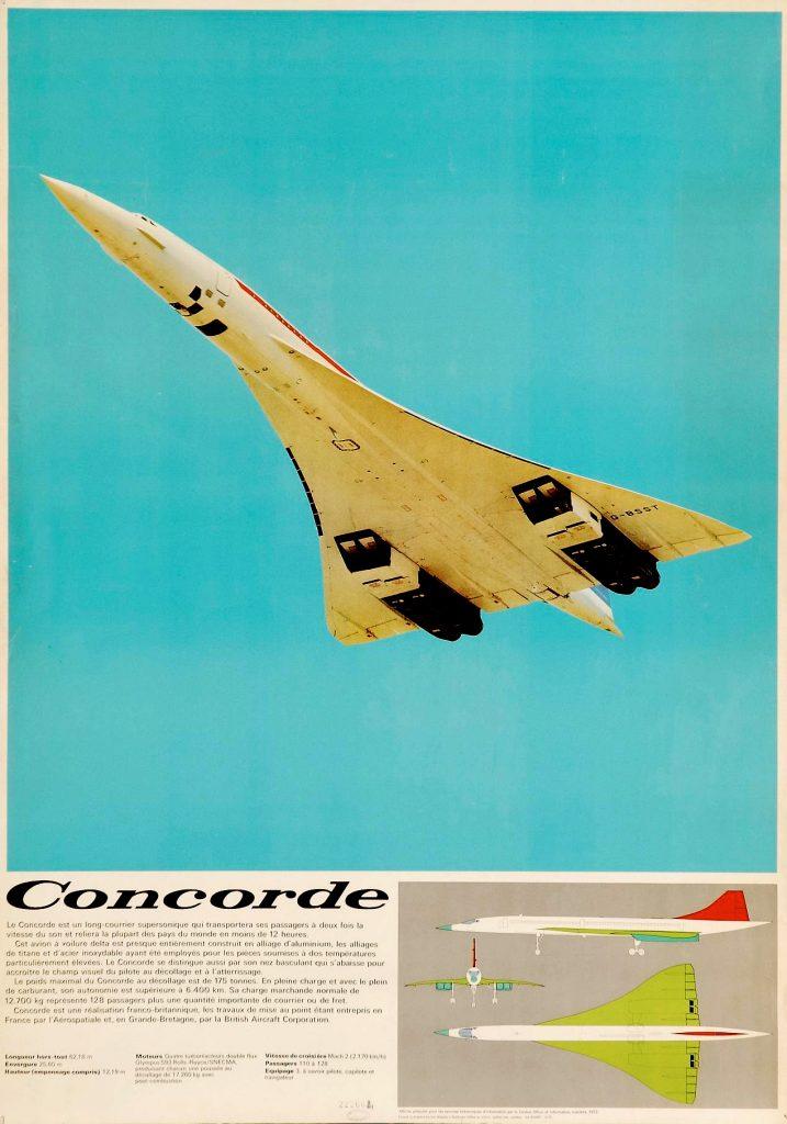 Grandes esperanzas para el Concorde en 1972