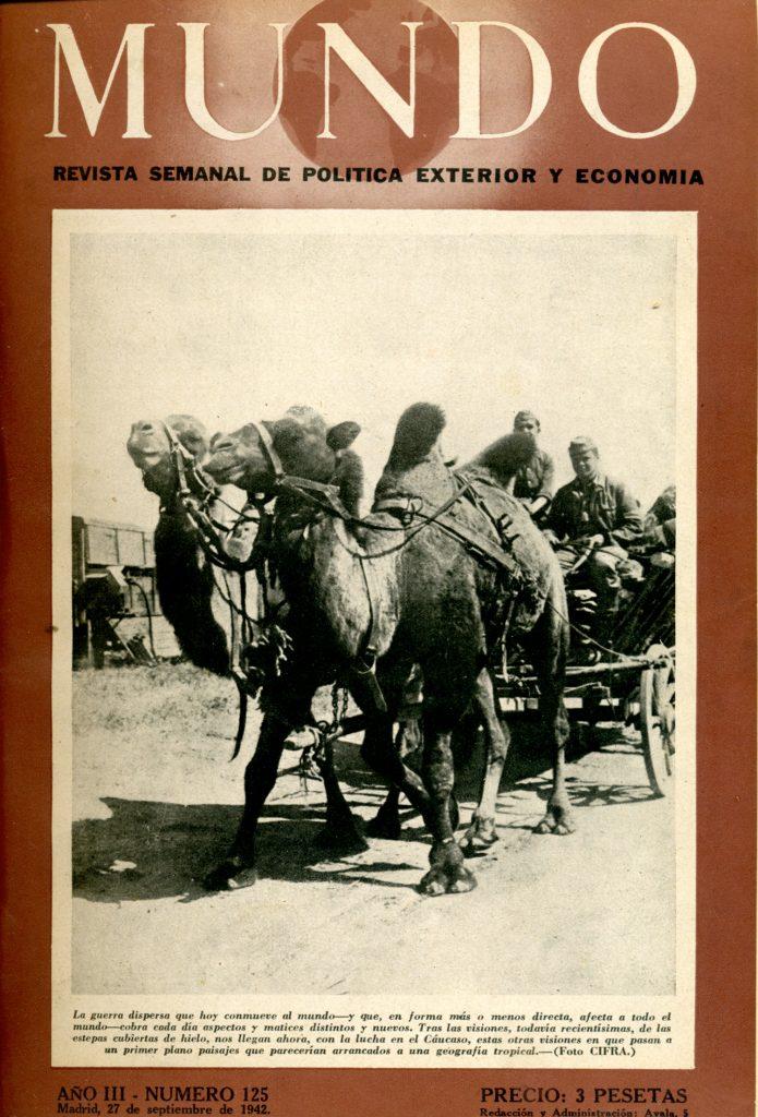 1942: la Wehrmacht tropieza con camellos en todas partes