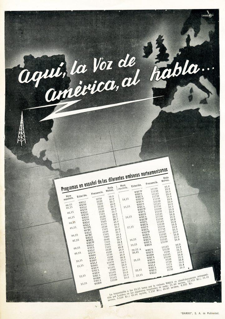 De la Voz de Alemania a la Voz de América