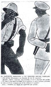 Orígenes del bigotillo fascista