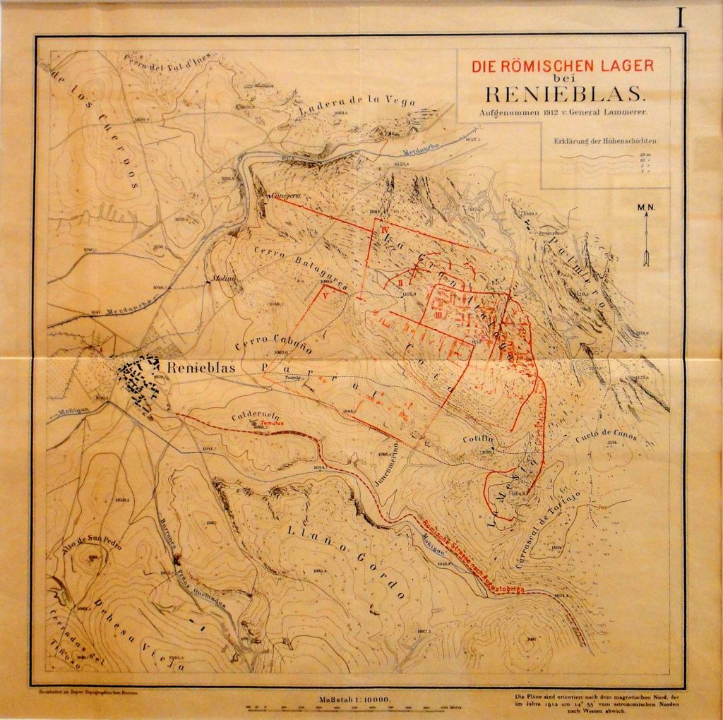El campamento romano de Renieblas