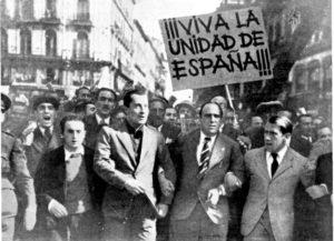 Una manifestación en la Puerta del Sol de Madrid