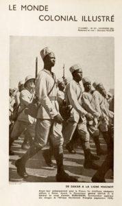 La doble derrota de las tropas coloniales francesas
