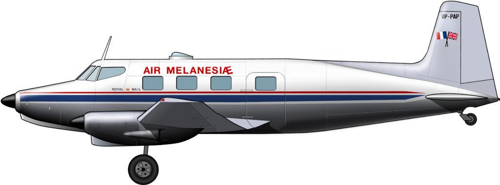 Air Melanesiae, la aerolínea colonial duplicada