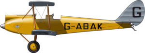 "The real yellow plane of ""Out of Africa"""