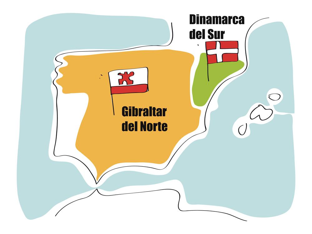 Mapas mentales: Norte y Sur