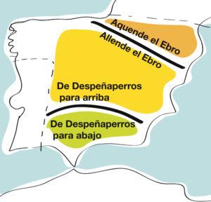 Mapas mentales: dos famosas fronteras