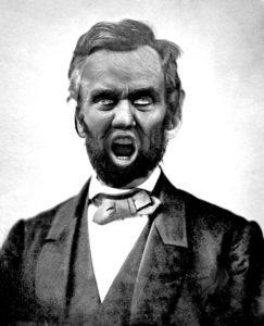 Lincoln gritando