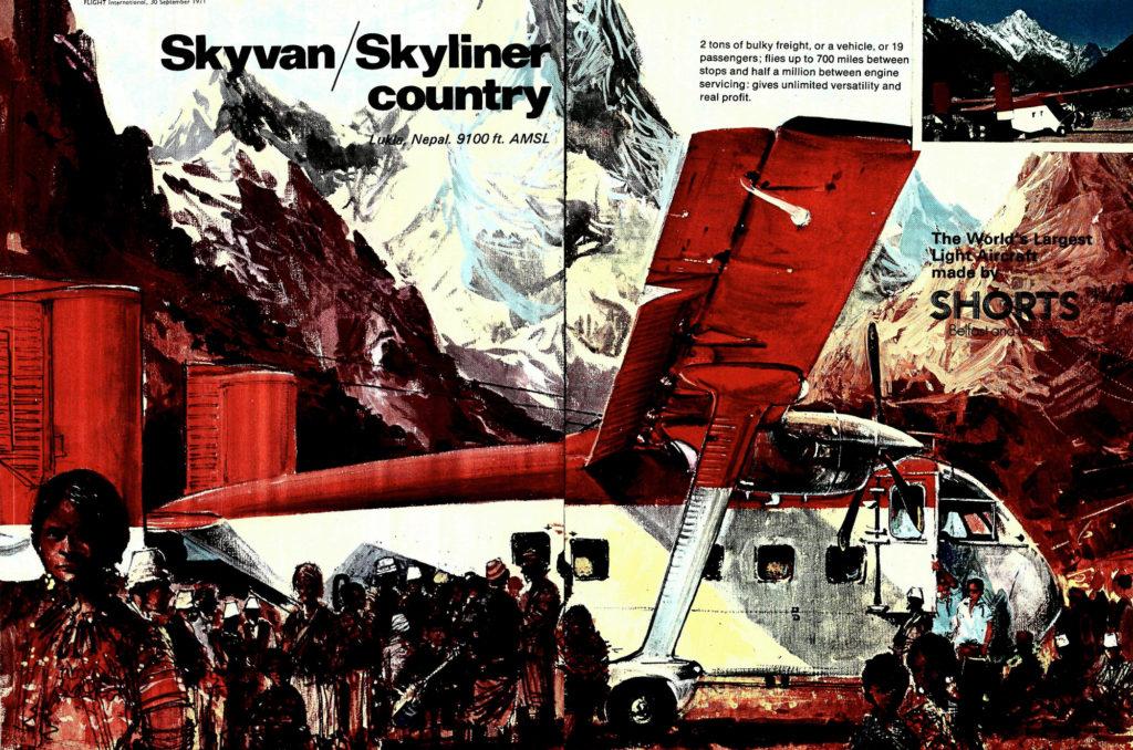 Una furgoneta aérea para el Himalaya