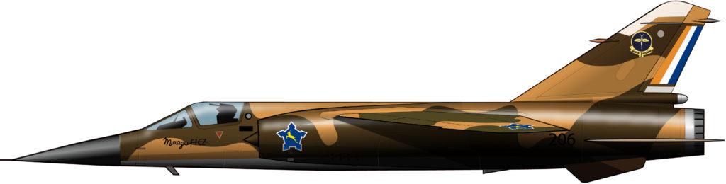 El bombardero estratégico de la fuerza aérea sudafricana