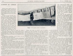 El único avión del Congo
