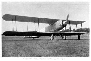 El primer avión diseñado para llevar mercancías, y no personas, bombas o correo postal