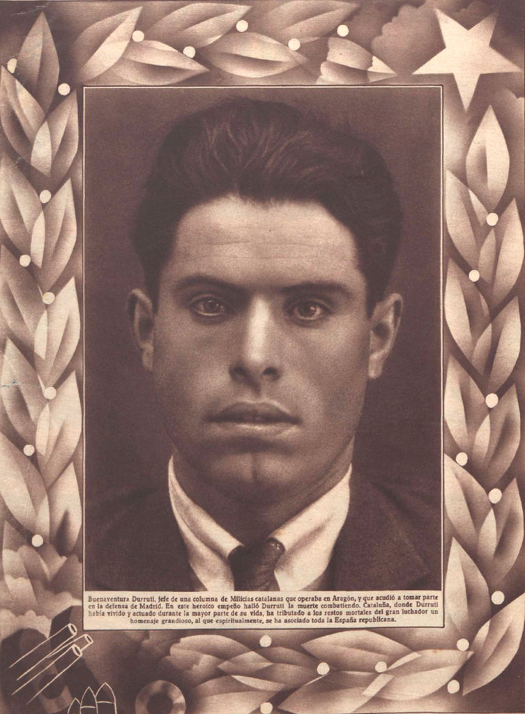Buenaventura Durruti, superhéroe del anarquismo