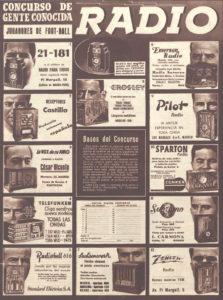 Marcas y modelos de radios, 1936