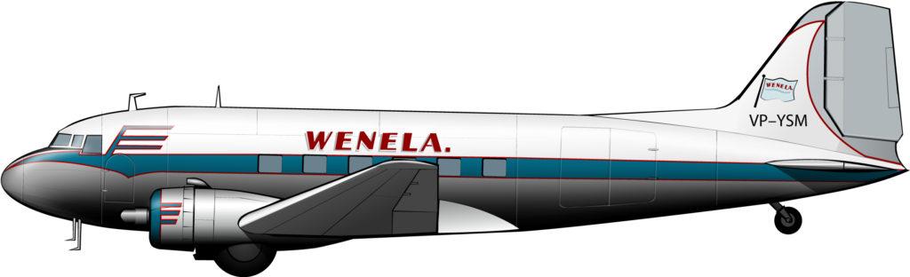 """La ruta aérea de empresa de los """"Nativos del Trópico"""""""