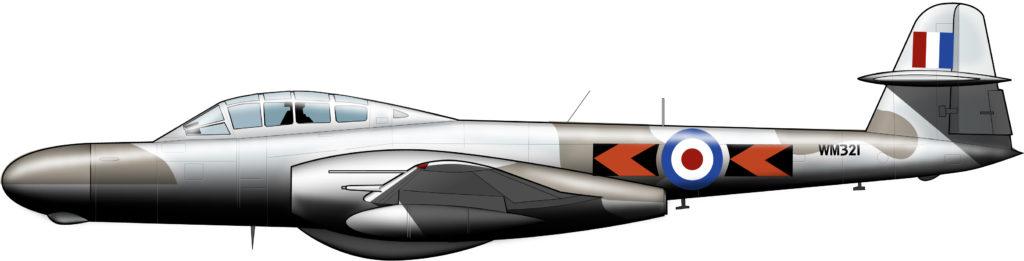 El primer jet británico en el último enclave imperial en Egipto