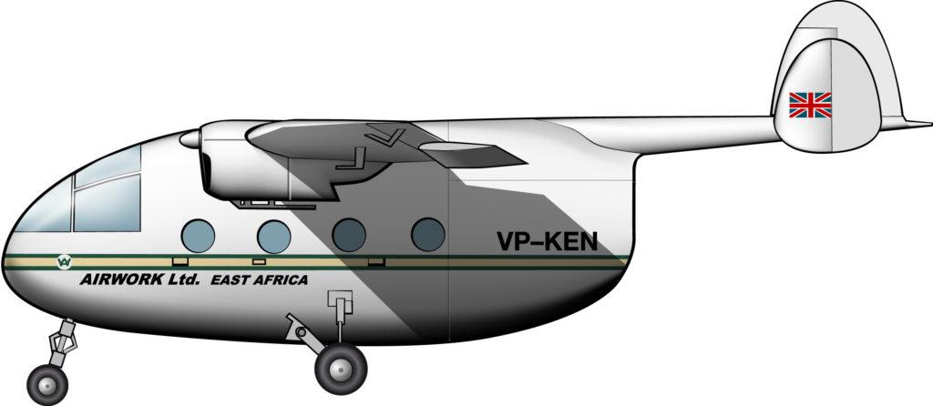 Una furgoneta aérea para el estrambótico Plan del Cacahuete de Tanganica