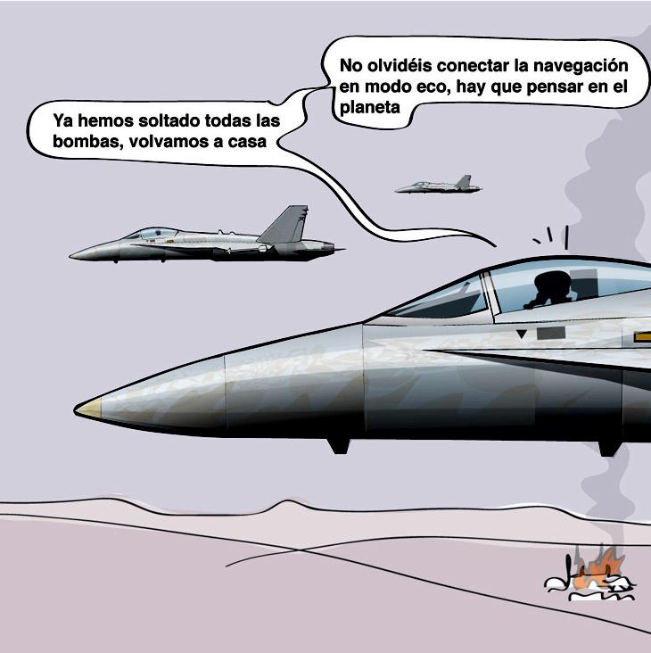 La guerra aérea moderna