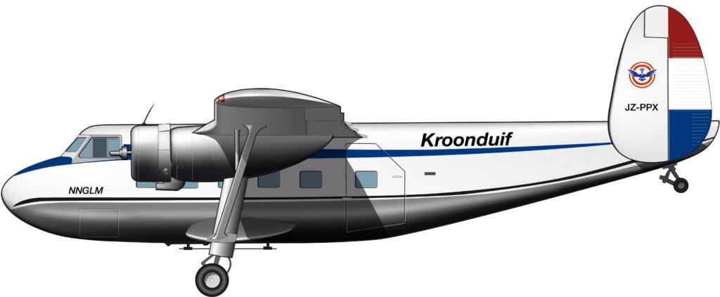 Un avión de línea todoterreno para la Nueva Guinea Holandesa