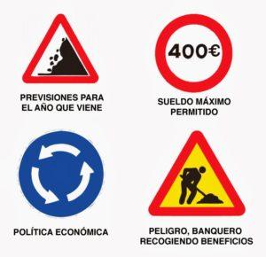 Más señales de tráfico