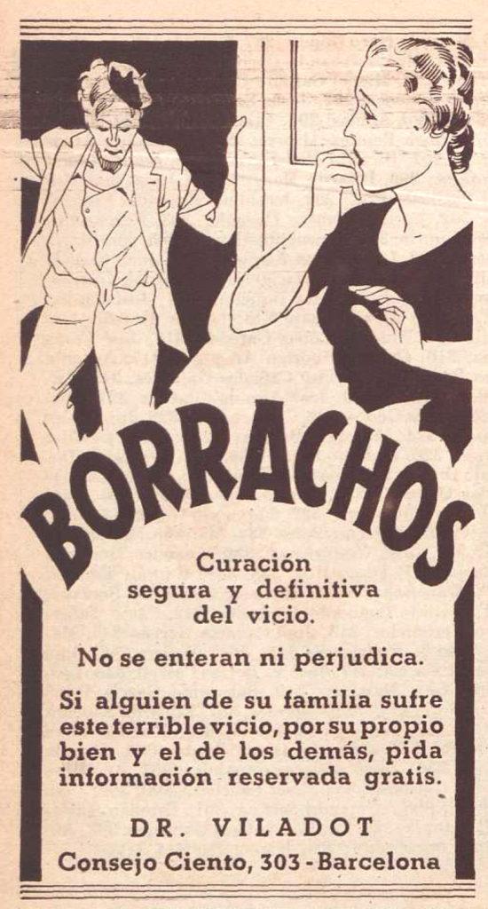 El alcohol y la guerra civil española