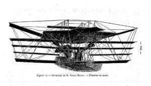 """""""Este nuevo ingenio de destrucción"""": el inventor de la ametralladora construye una máquina voladora"""