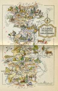 Todos los tópicos turísticos de España en 1950