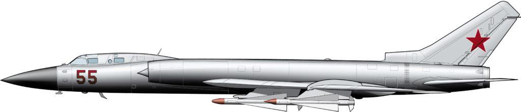 Un bombardero contra bombarderos: Tupolev Tu-128