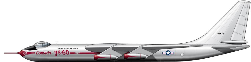 Convair YB-60: una chapuza retrofuturista