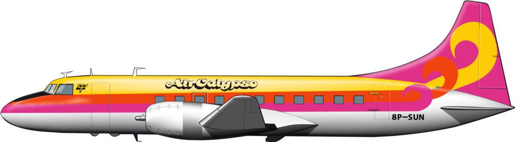 Aviones psicodélicos para el Caribe