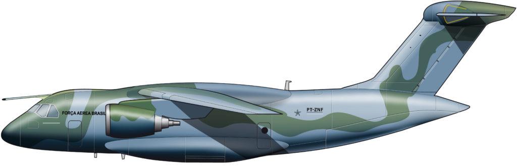 Completamente multinacional: Embraer KC-390