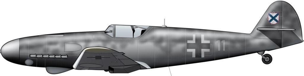 La fuerza aérea del Ejército Ruso de Liberación