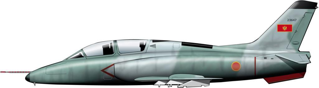 Astillas de la fuerza aérea de Yugoslavia
