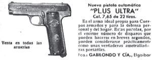 Defienda su dinero a tiros: propaganda de pistolas de la década de 1930.