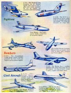 Aviones de 1952