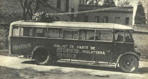 Coches y autobuses para la guerra