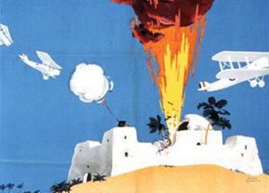 El bombardeo de los árabes como espectáculo