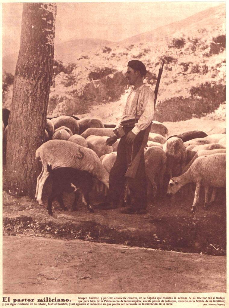 Paisanos, pastores y campesinos lanzados a la guerra: cuatro fotos de Crónica