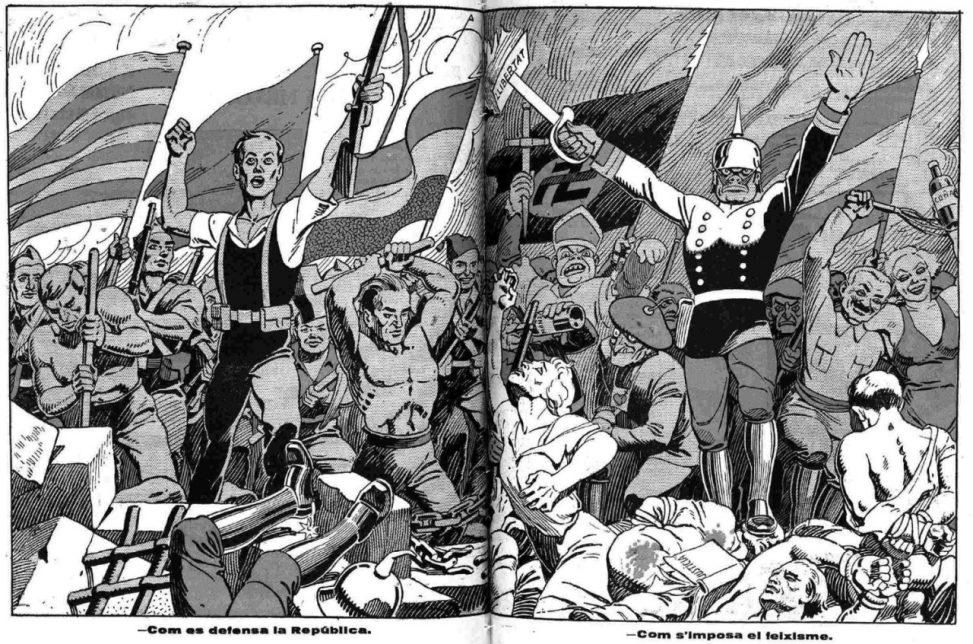 Diecisiete meses de fascismo en Teruel