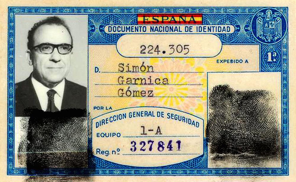 El documento franquista que todos llevamos en el bolsillo
