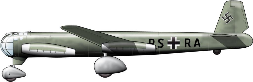 El inconfundible y ominoso Ju-287