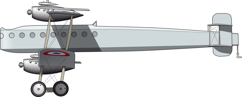 Blériot 67/71/74: máquinas enormes de poco uso