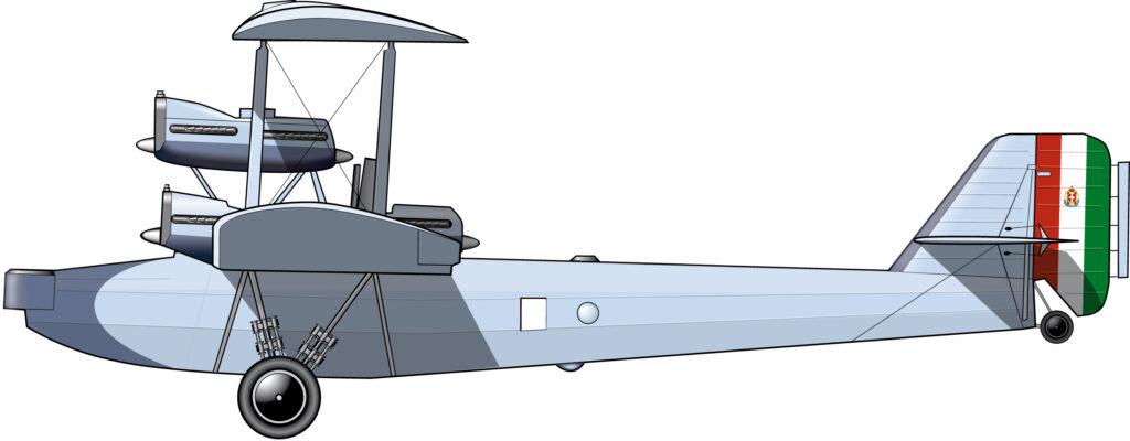 El avión más grande del mundo, hecho en la Italia fascista