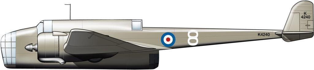 Multiplace de combat, british style
